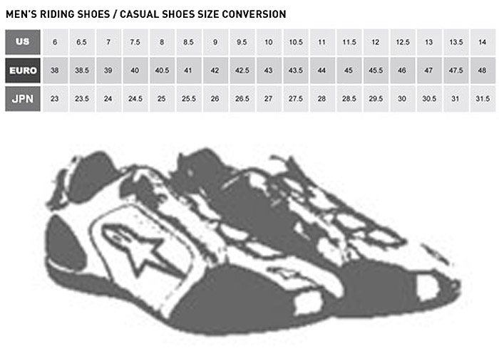 Men S Shoe Size