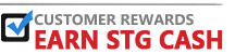 Customer Rewards, Earn STG Cash