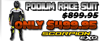 Scorpion Podium Race Suit Sale