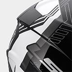 LS2 Pioneer Solid Helmet Ventilation