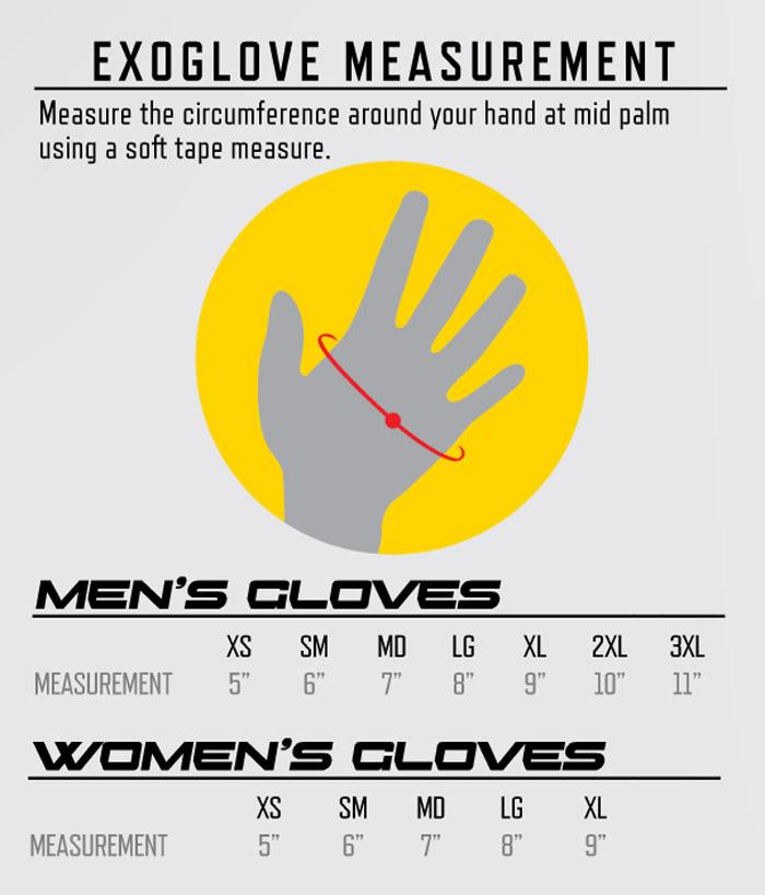 Scorpion Gloves Size Chart