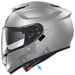 Shoei GT-Air Swayer Helmet Emergency Quick Release System (E.Q.R.S)