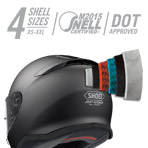 Shoei RF-1200 Incision Helmet Multi-Ply Matrix AIM+ Shell