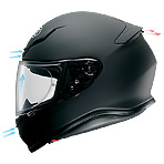 Shoei RF-1200 Incision Helmet Ventilation
