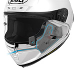 Shoei X-14 Marquez Helmet Ventilated Cheek Pads