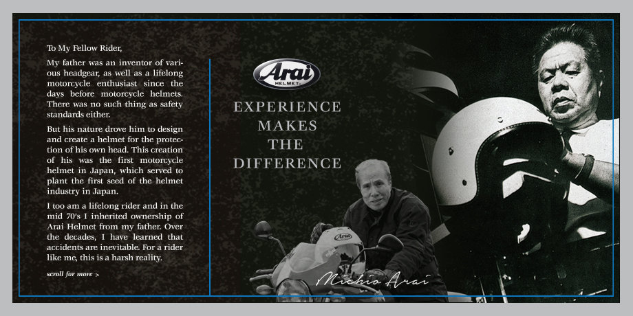 Arai is Family Owned and Operated