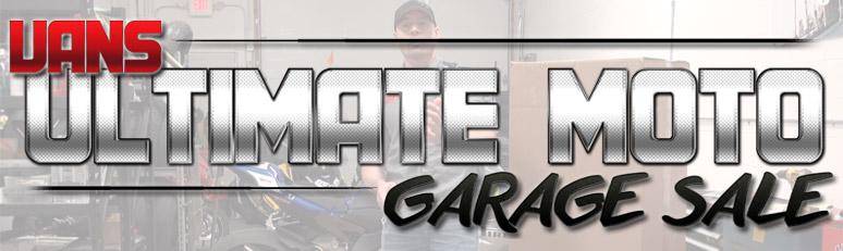 Van's Ultimate Moto Garage Sale