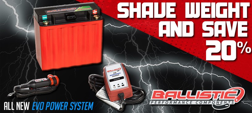 Ballistic Lithium Batteries 20% Off