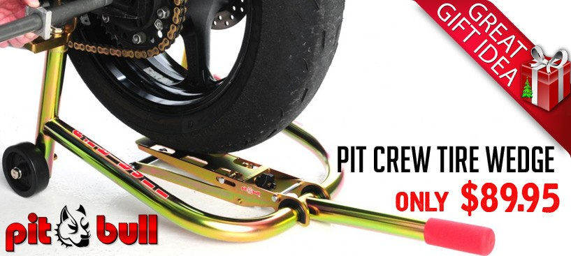 Pit Bull Tire Wedge Great Gift Under $100