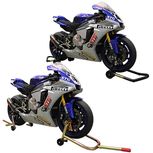 Buy a quality motorcycle stand