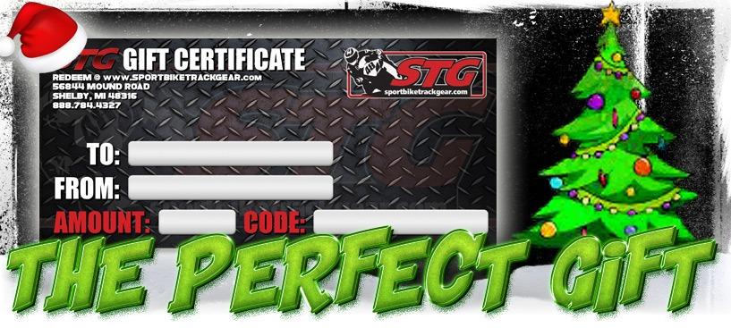 STG Gift Certificates
