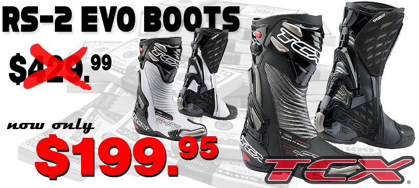 TCX RS2 EVO Boots Only $199.95