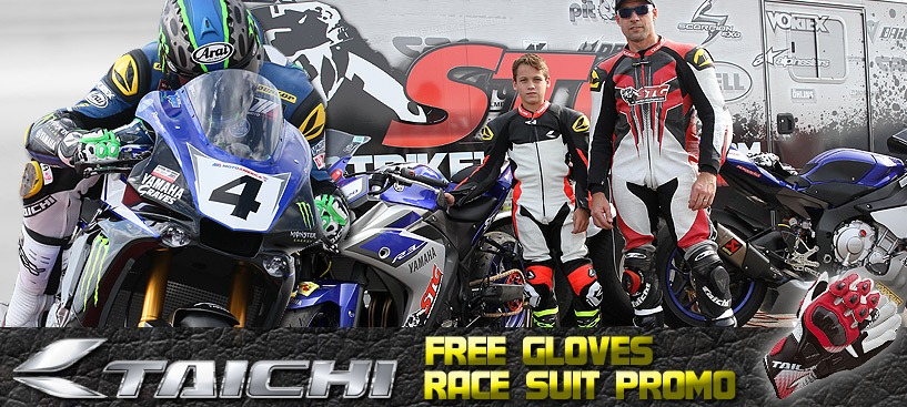 RS Taichi Race Suit Promo