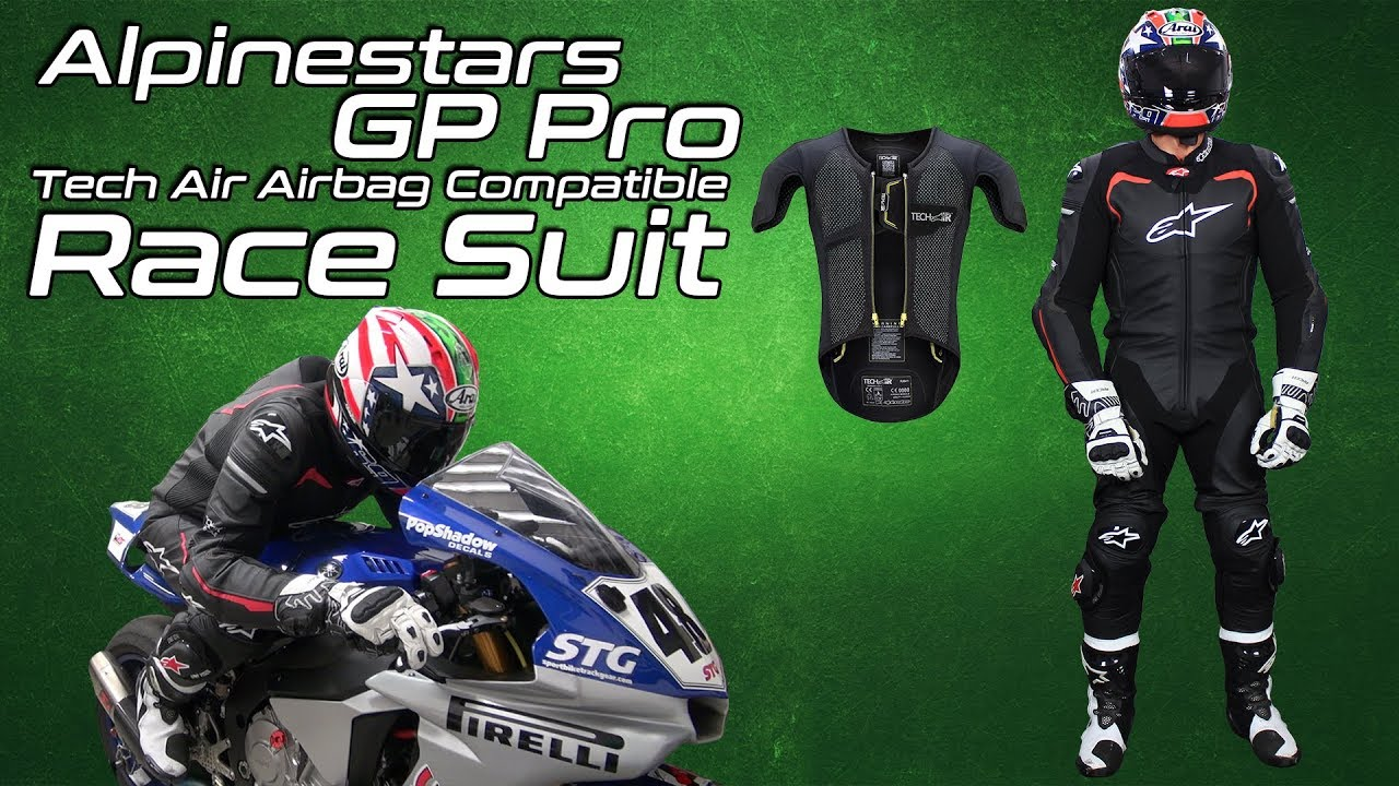 Alpinestars GP Pro Leather Race Suit Tech-Air Race Compatible