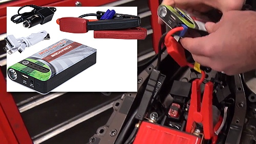 Emergency Jump Starter and Back-Up Power Supply