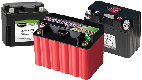 Lithium Motorcycle Battery - Light Weight Performance Upgrade